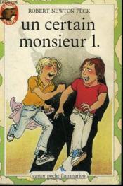 Un Certain Monsieur L. Collection Castor Poche N° 9 - Couverture - Format classique