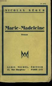 Marie-Madeleine. - Couverture - Format classique
