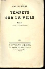Tempete Sur La Ville - Couverture - Format classique