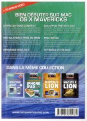 Competence Mac N.5 ; Bien Débuter Sur Mac Avec Os X Mavericks - 4ème de couverture - Format classique