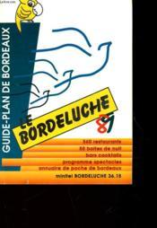 Guide Plan De Bordeaux - Le Bordeluche - Couverture - Format classique