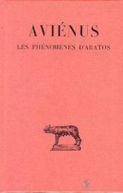 Les phénomènes d'Aratos - Couverture - Format classique