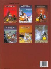 Percevan t.1 ; les trois etoiles d'ingaar - 4ème de couverture - Format classique