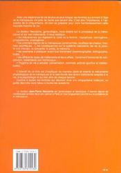 La Menopause - 4ème de couverture - Format classique