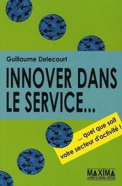 L'innovation dans les services - Intérieur - Format classique