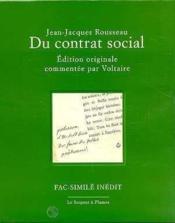 Du Contrat Social - Couverture - Format classique
