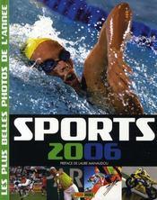 Sports 2006 ; Les Plus Belles Photos De L'Annee - Intérieur - Format classique