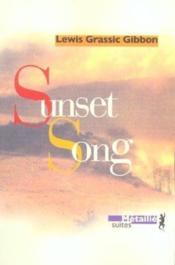 Sunset Song - Couverture - Format classique