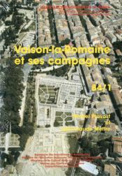 Carte Archeologique De La Gaule T.84/1 ; Vaison-La-Romaine Et Ses Campagnes - Couverture - Format classique