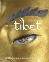 Art sacré du Tibet - Couverture - Format classique