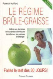 Regime Brule Graisse - Couverture - Format classique