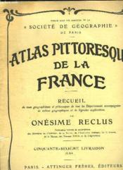 ATLAS PITTORESQUE DE LA FRANCE 65e LIVRAISON : JURA. - Couverture - Format classique
