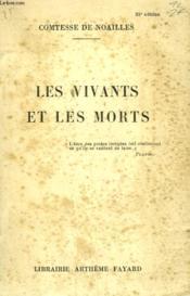 Les Vivants Et Les Morts. - Couverture - Format classique