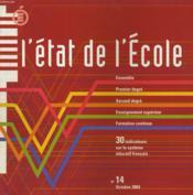 L'Etat De L'Ecole N°14 - Couverture - Format classique