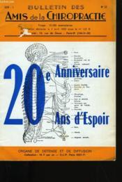 Bulletin Des Amis De La Chiropractie N° 52. - Couverture - Format classique
