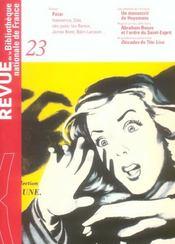 Revue Bnf T.23 ; Polar - Intérieur - Format classique