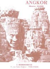 Les monuments du groupe d'Angkor - Couverture - Format classique