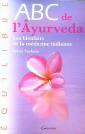 Abc De L'Ayurveda - Intérieur - Format classique