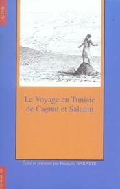Le voyage en tunisie de cagnat et saladin - Intérieur - Format classique