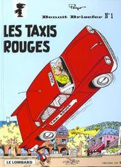 Benoît Brisefer t.1 ; les taxis rouges - Intérieur - Format classique
