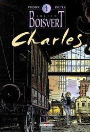 Julien Boisvert t.4 ; Charles - Couverture - Format classique
