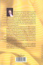 La fatiha nee en france, mariee en algerie - 4ème de couverture - Format classique