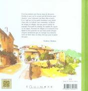 Sud luberon (le) - 4ème de couverture - Format classique