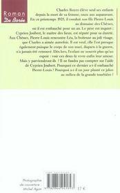 Ombre Des Chenes (L') - 4ème de couverture - Format classique