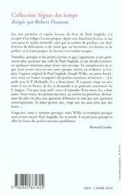 Pretre Ouvrier Forgeron - 4ème de couverture - Format classique