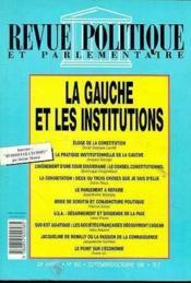 La Gauche & Institutions - Couverture - Format classique