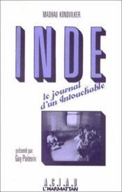 Inde ; le journal d'un intouchable (1969-1977) - Couverture - Format classique