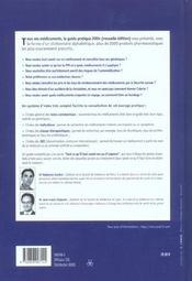 Tous vos medicaments, le guide pratique (édition 2004) - 4ème de couverture - Format classique