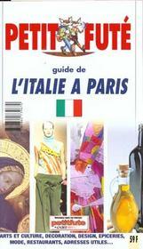 L'italie a paris 2000, le petit fute - Intérieur - Format classique