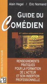 Guide du comédien (8e edition) - Intérieur - Format classique