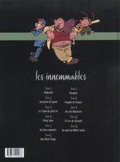 Les innommables t.11 ; au nord de white sands - 4ème de couverture - Format classique