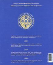 Nautical Ornaments ; Ornements Nautiques ; Nautische Ornamente ; Ornamentos Nauticos - 4ème de couverture - Format classique