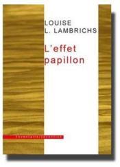 L'Effet Papillon - Couverture - Format classique