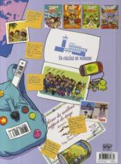 Zap collège t.5 - 4ème de couverture - Format classique