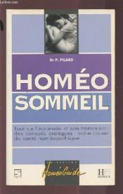 Homeo sommeil - Couverture - Format classique