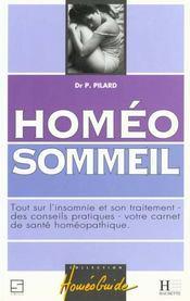 Homeo sommeil - Intérieur - Format classique