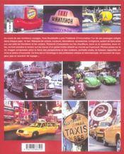 Le Tour Du Monde Des Taxis - 4ème de couverture - Format classique