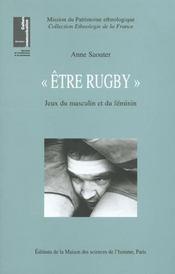 Etre Rugby ; Jeux Du Masculin Et Du Feminin - Intérieur - Format classique