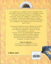 Les Coquillages - 4ème de couverture - Format classique