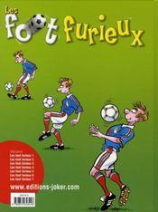 Les foot furieux t.7 - 4ème de couverture - Format classique