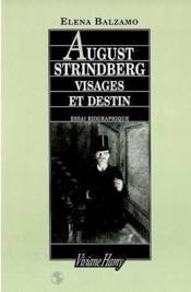 August Strindberg : visages et destin ; essai biographique - Couverture - Format classique