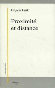 Proximité et distance - Couverture - Format classique