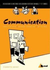 Communication - Couverture - Format classique