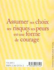 Le petit livre du courage - 4ème de couverture - Format classique