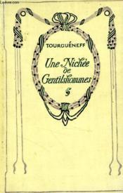 Une nichée de gentilshommes. - Couverture - Format classique