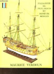Catalogue De Jeux Jouets Et Modeles Reduits - Couverture - Format classique